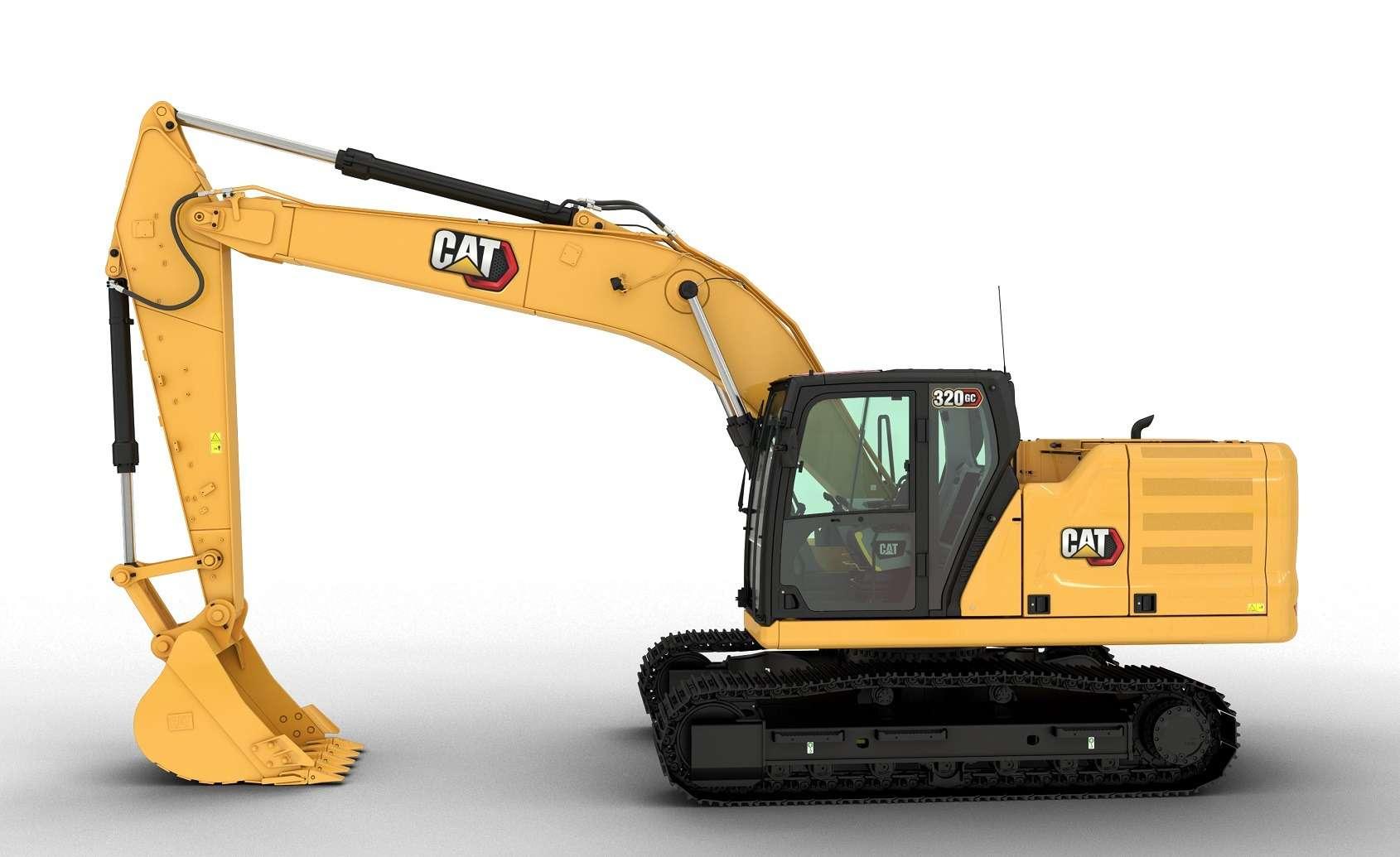 Новая габаритная модель гусеничного экскаватора Cat 320GC отCATERPILLAR®— фото 1271420