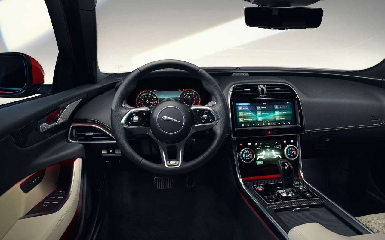 Jaguar представил обновленный XE— фото 952731