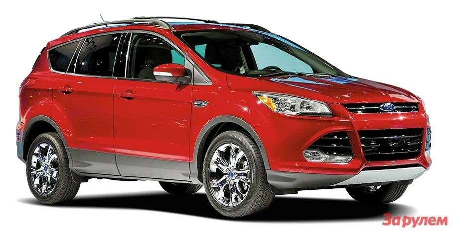 Ford Kuga нового поколения