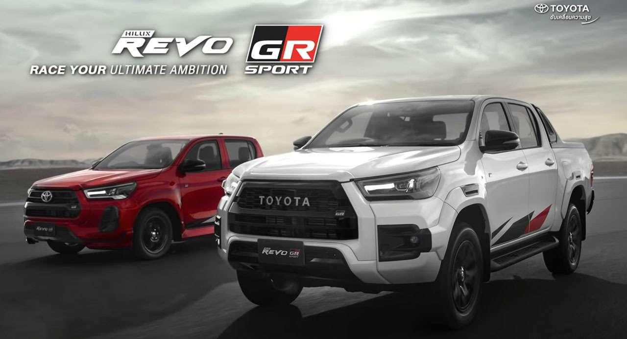Toyota выпустила Hilux вспортивном обвесе— фото 1273023