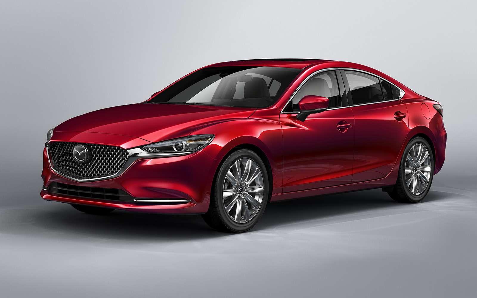 Обновленная Mazda 6— дорого ибогато— фото 821663