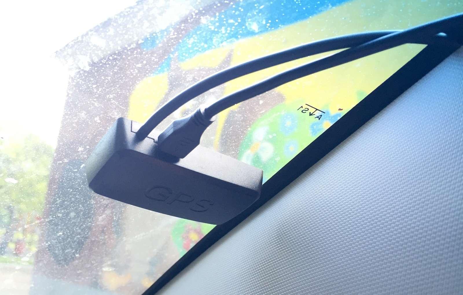 Видеорегистраторы TrendVision TDR-718GP иMR-710GP: взеркальном отражении— фото 387618