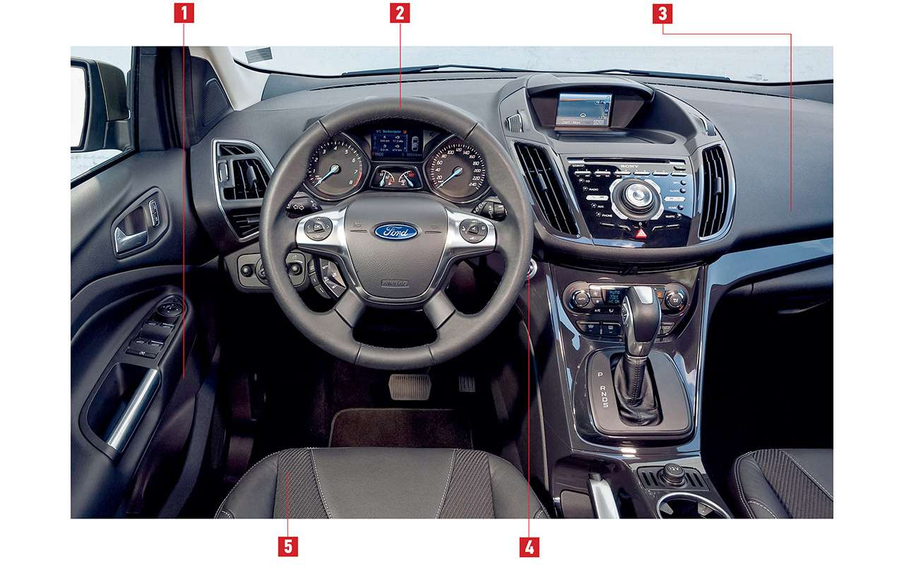 Ford Kuga навторичке: все его неисправности— фото 986495