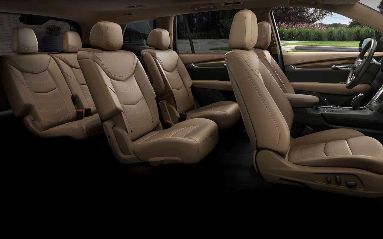 Cadillac XT6: большой кроссовер вместо внедорожника— фото 940647