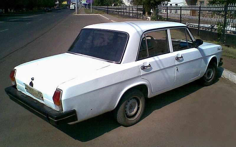 Самодельная ГАЗ-3102 Волга