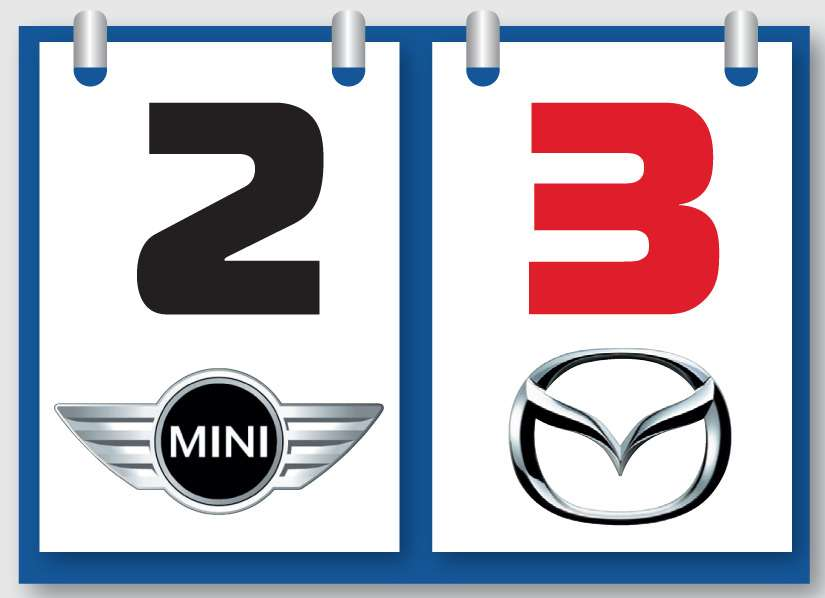 Mazda MX-5и MINI Cooper SRoadster