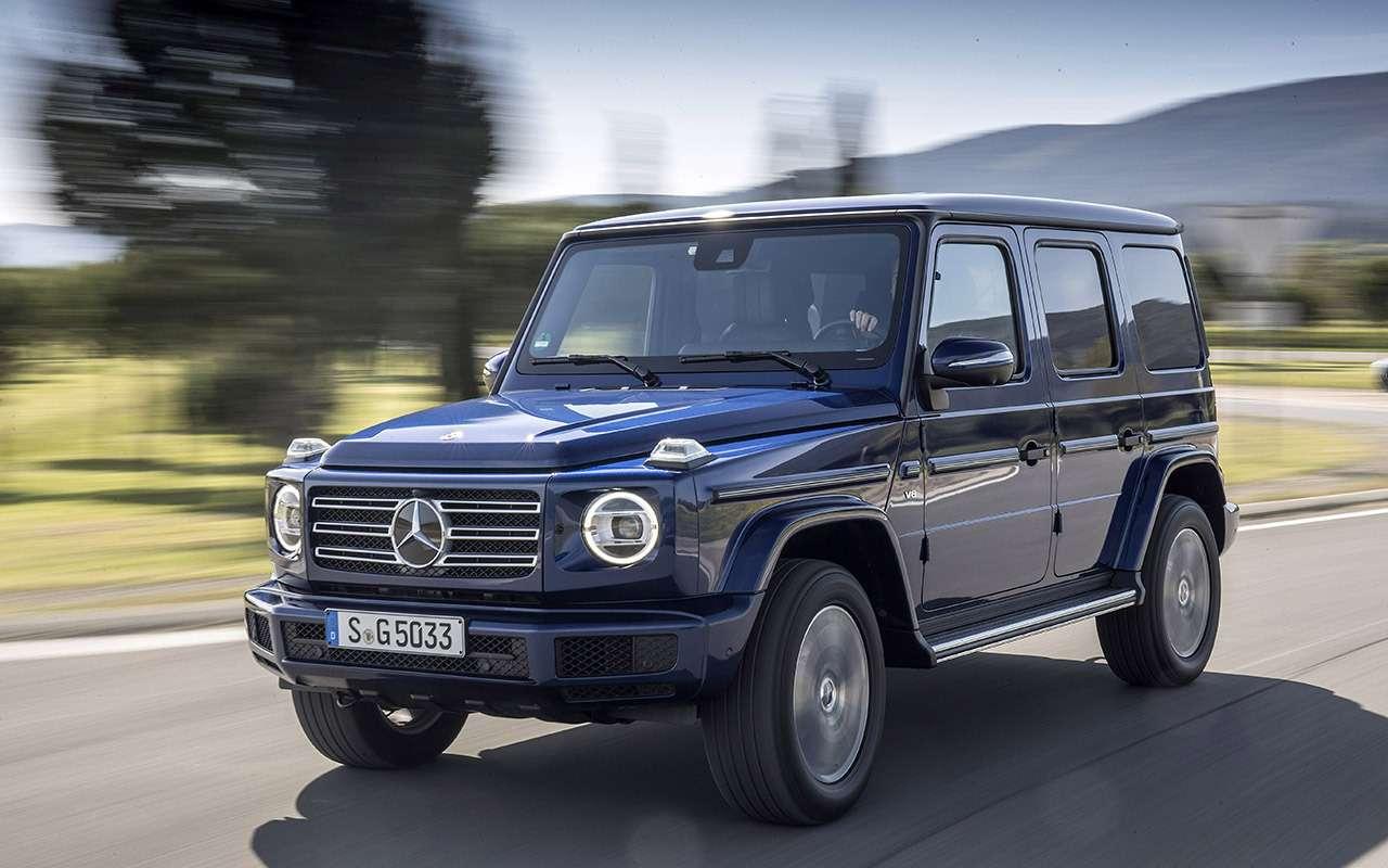 Новый Mercedes-Benz G-класса: первый тест-драйв— фото 867926