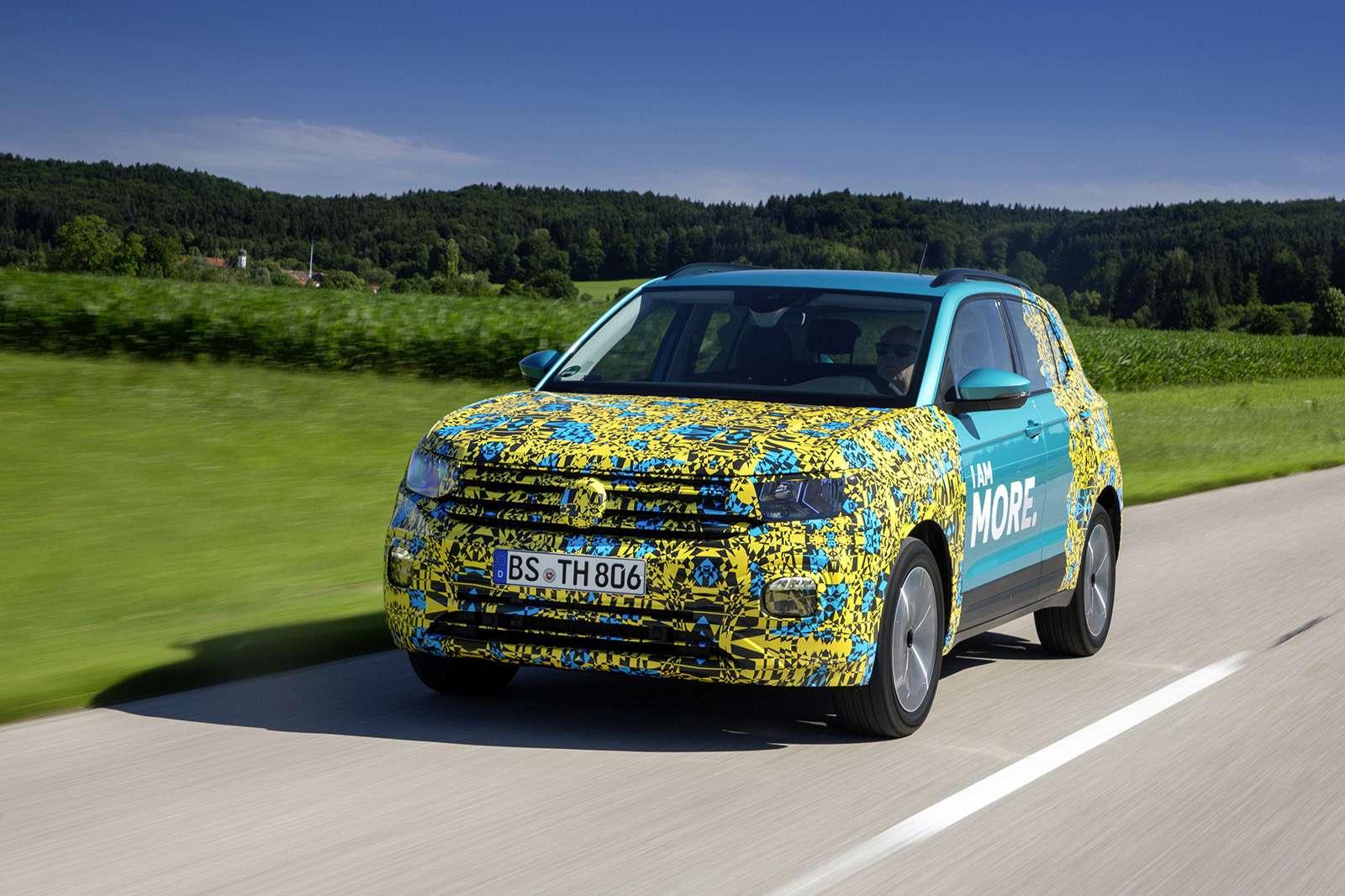 Самый маленький кроссовер Volkswagen: первые подробности— фото 886296