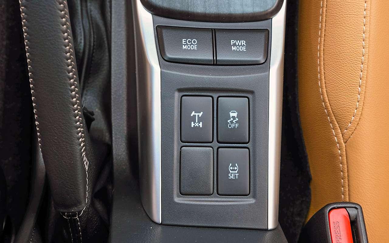 Toyota Fortuner, Mitsubishi Pajero Sport, Kia Mohave  — супертест — фото 855640