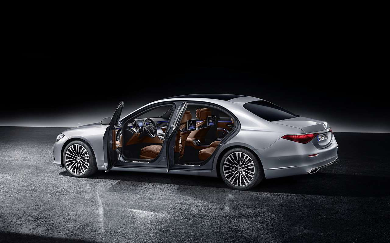 Новый Mercedes-Benz S-Класса наведет порядок дома— фото 1164317