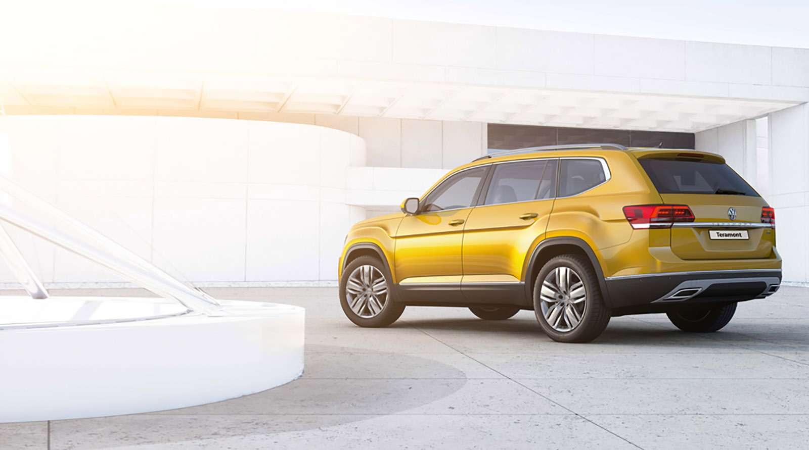Volkswagen Teramont: оноказался дешевле конкурентов— фото 852957