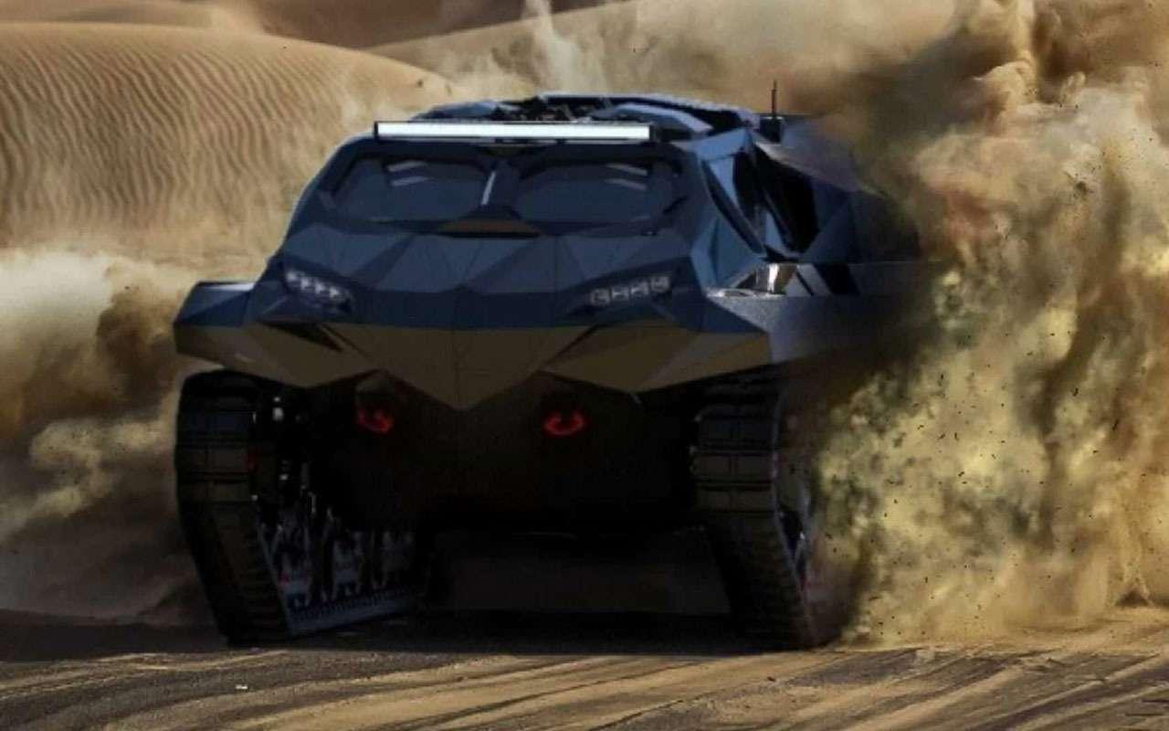 Storm— зловещий танк-амфибия изУкраины— фото 1228331