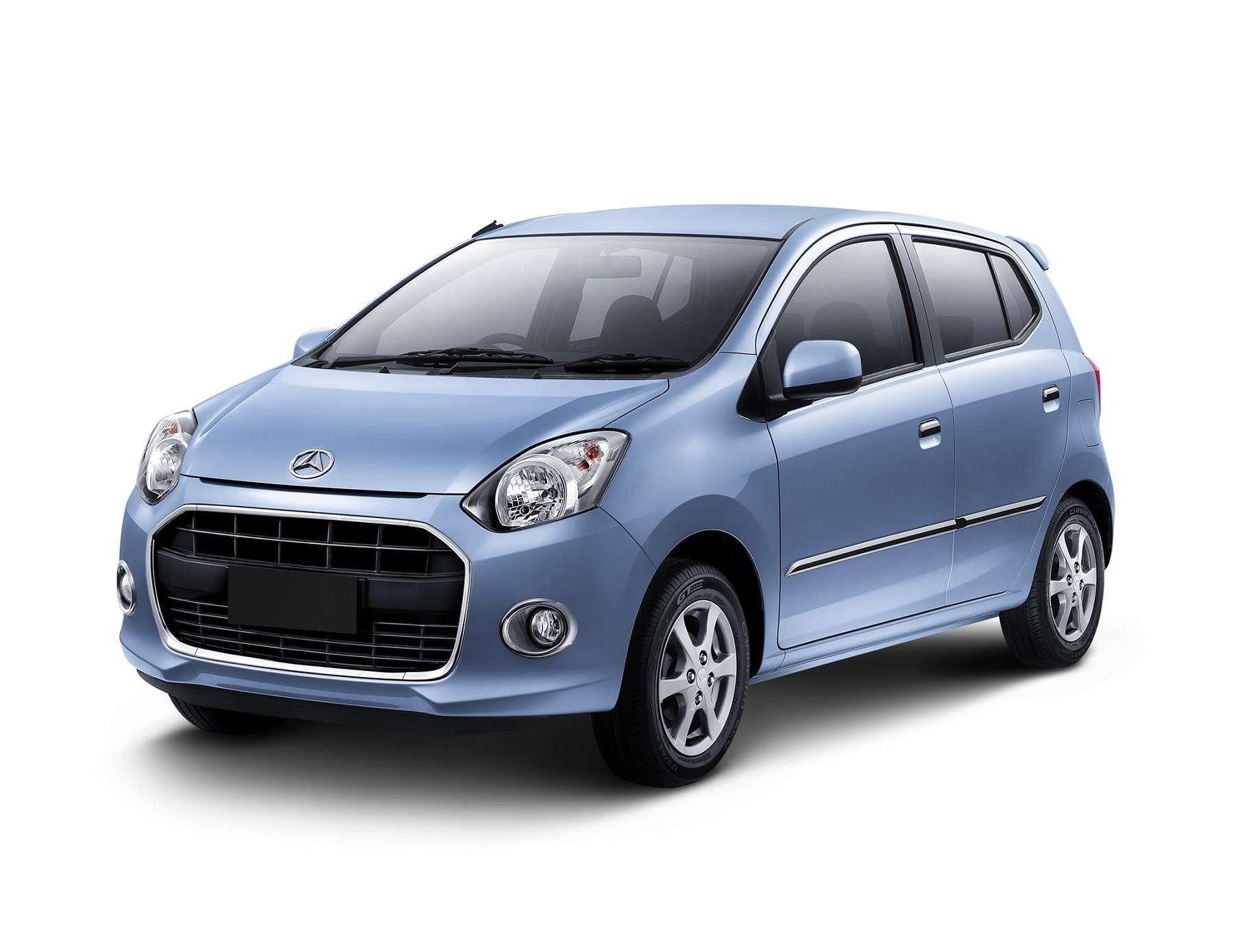 Daihatsu Ayla вИндонезии или Toyota Wigo наФилиппинах