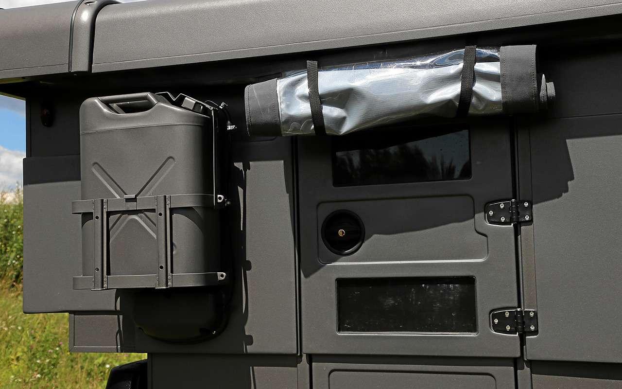 Автодом набазе пикапа УАЗ— подробный обзор— фото 1159471
