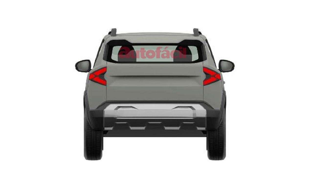 С прицелом нановую Ниву: запатентован дизайн Dacia Bigster— фото 1247819
