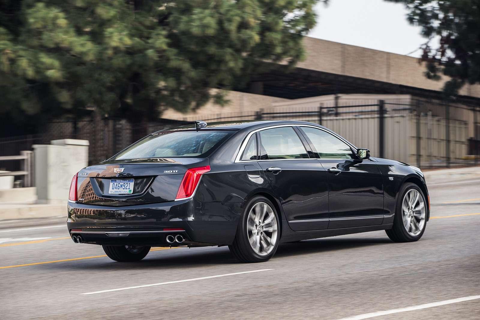 Флагманский седан Cadillac: цены икомплектации вРоссии— фото 823419