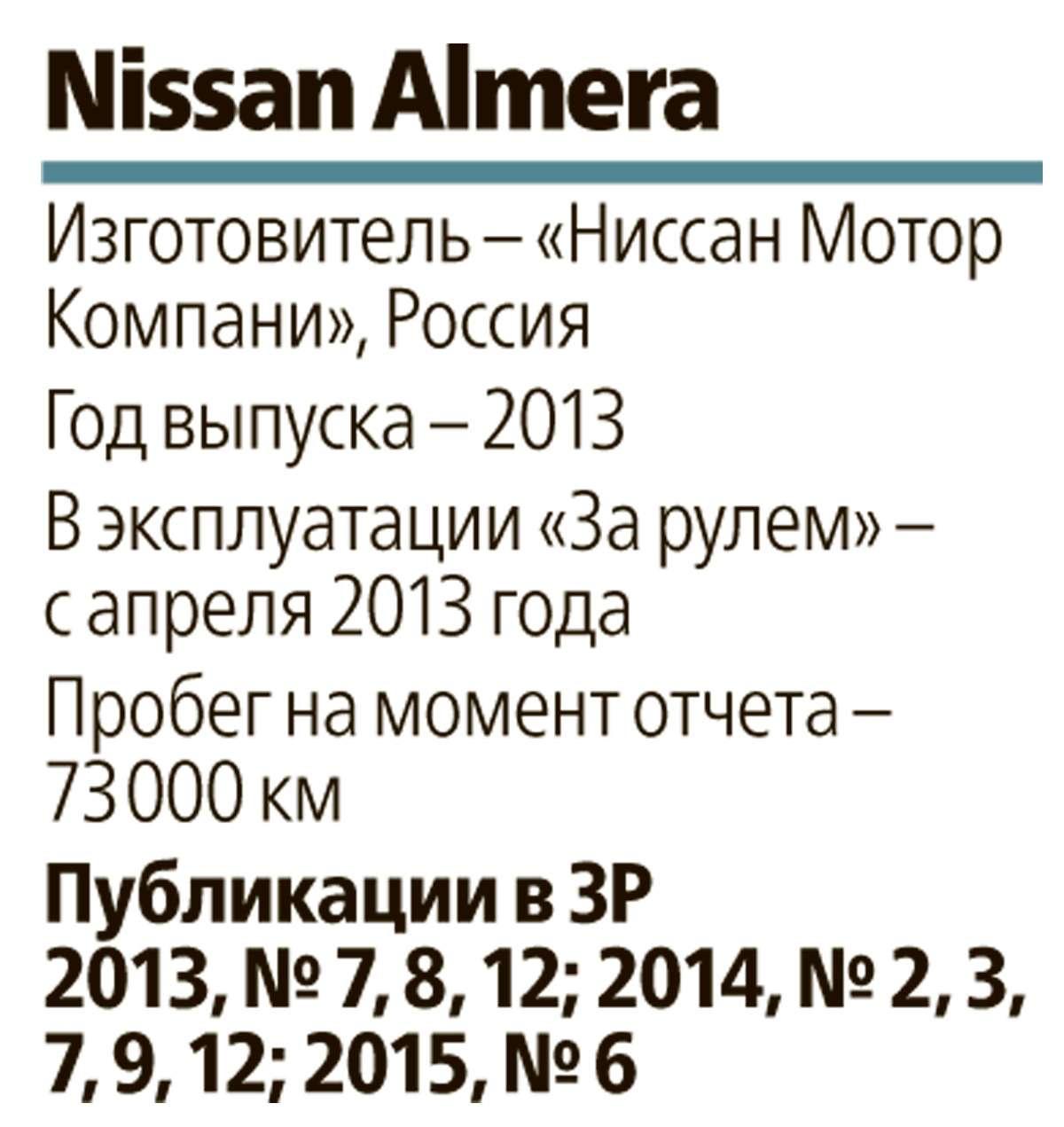 Nissan Almera изпарка ЗР: наука оконтактах— фото 575906