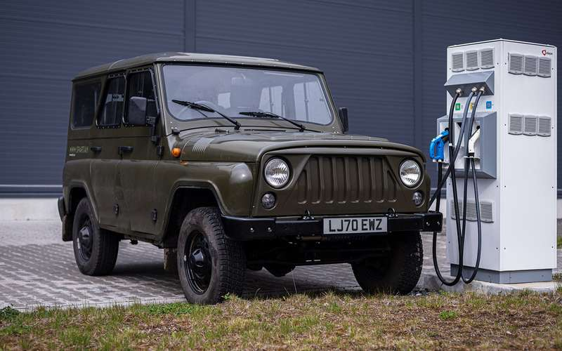 В Европе стартовали продажи электрического UAZ Hunter