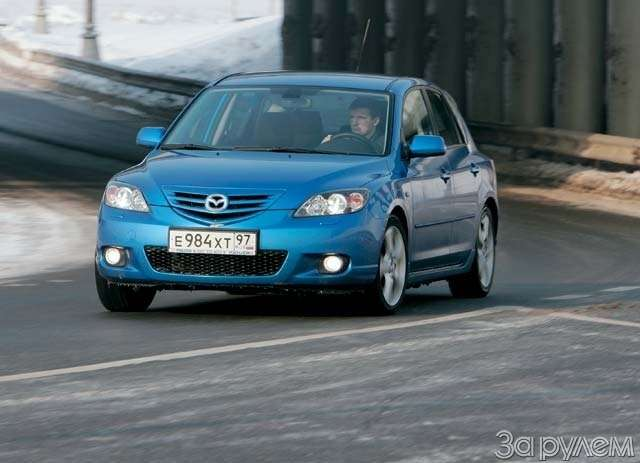 ТЕСТ: Mazda 3и Mitsubishi Lancer. Два литра сверхом— фото 63629