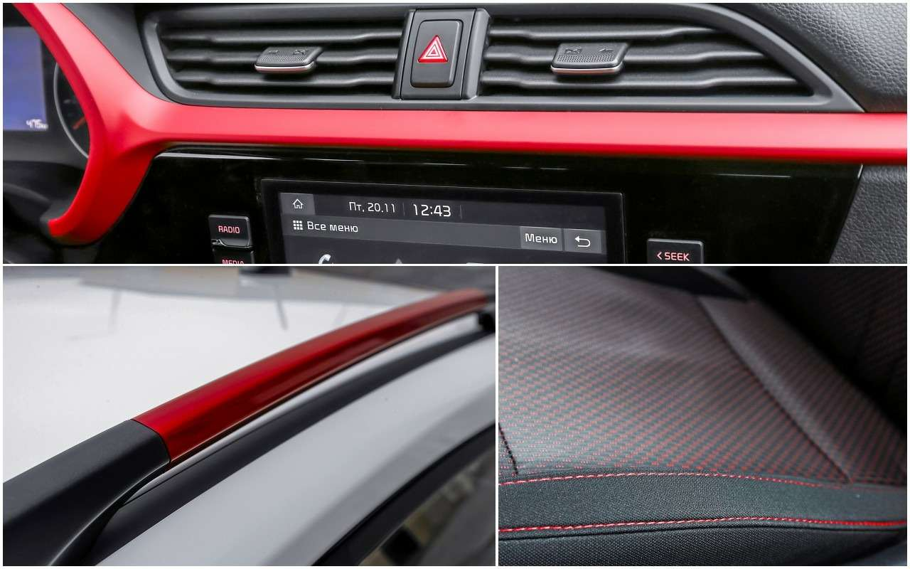 KiaRio X— тест последнего (почти) хэтчбека вВ‑классе— фото 1211311