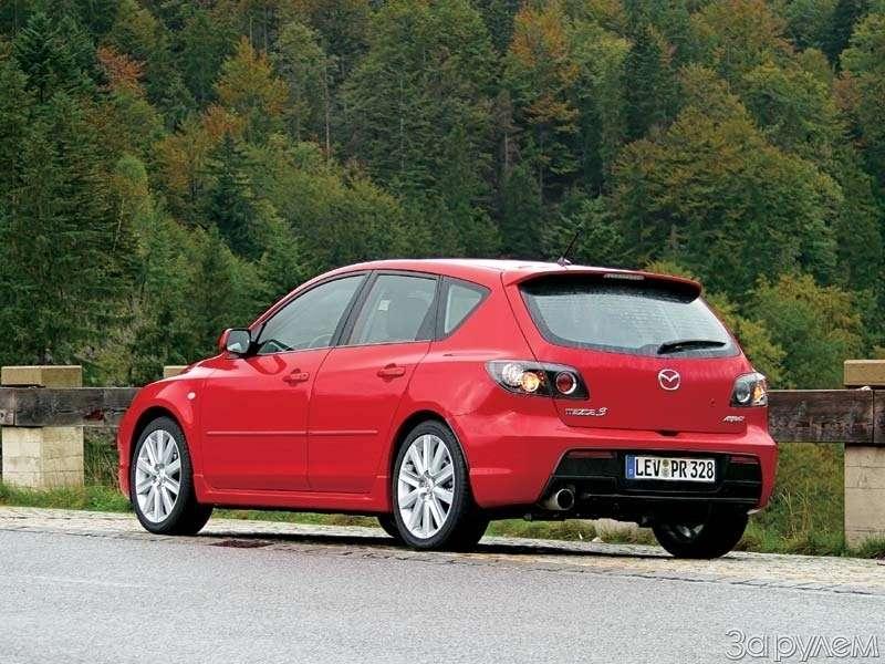 Mazda 3.НЕТРОГАТЬСЯ,     АСТАРТОВАТЬ— фото 69417