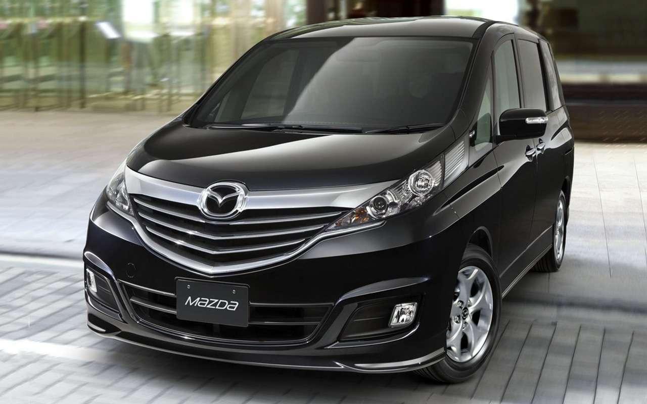 10отличных моделей Mazda, которых нет вРоссии— фото 882842