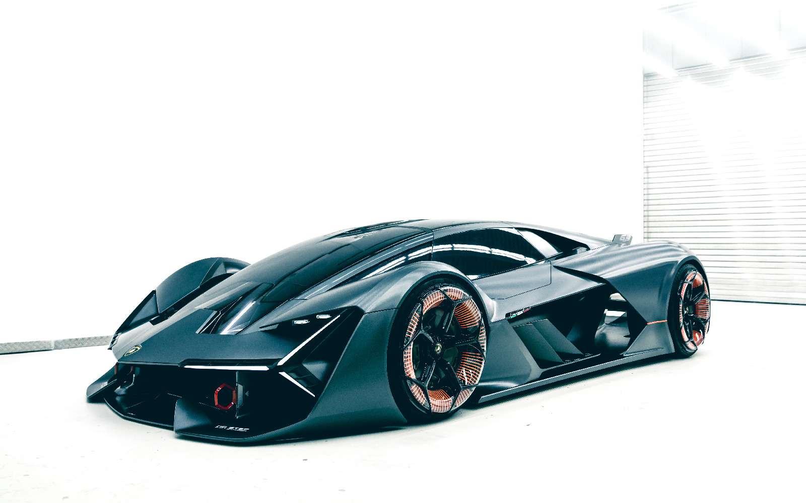Lamborghini будущего: кузов-батарейка ссамовосстановлением— фото 813913