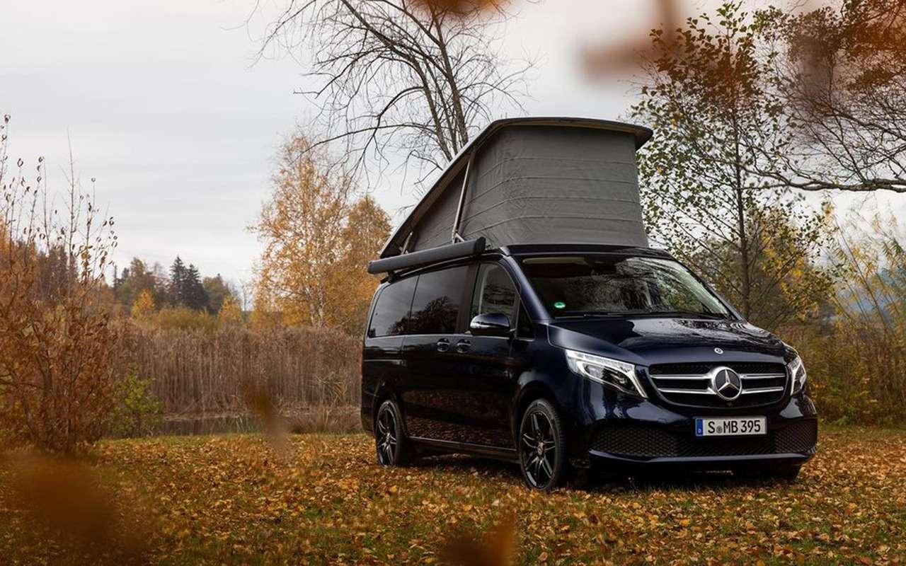 Автодом Mercedes-Benz выполняет команду: «Эй, Мерседес!»— фото 1019277