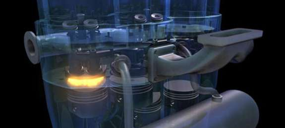 Scuderi twin-cycle Miller gasoline engine 2