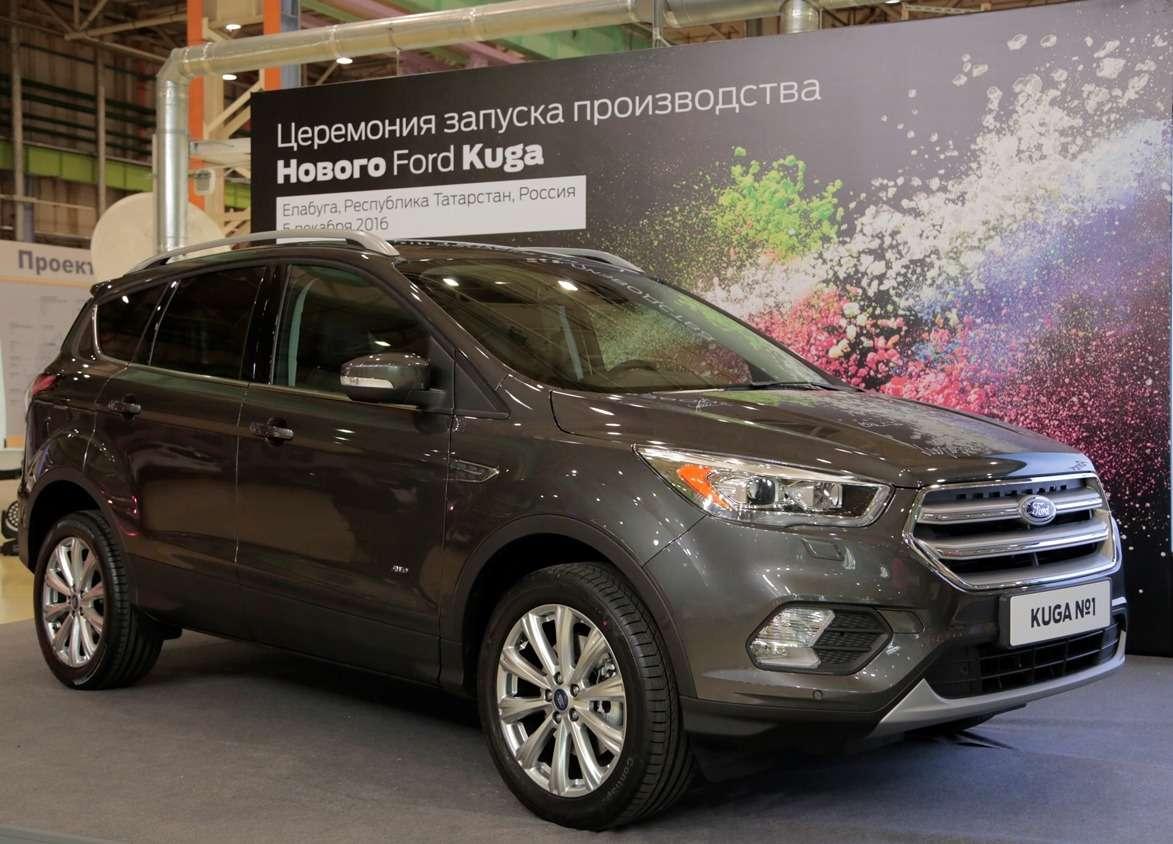 Обновленный Ford Kuga встал наконвейер завода вЕлабуге— фото 674015