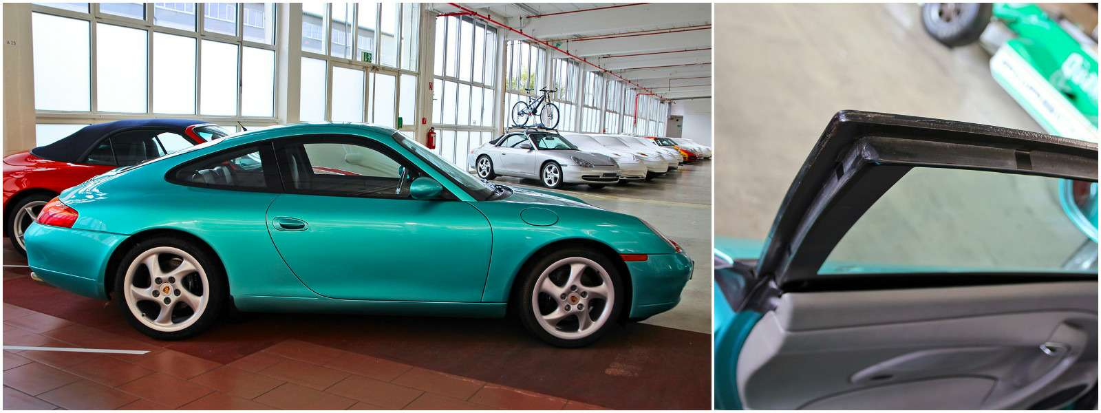 Секретный гараж Porsche: Лада Самара идругие— фото 700192