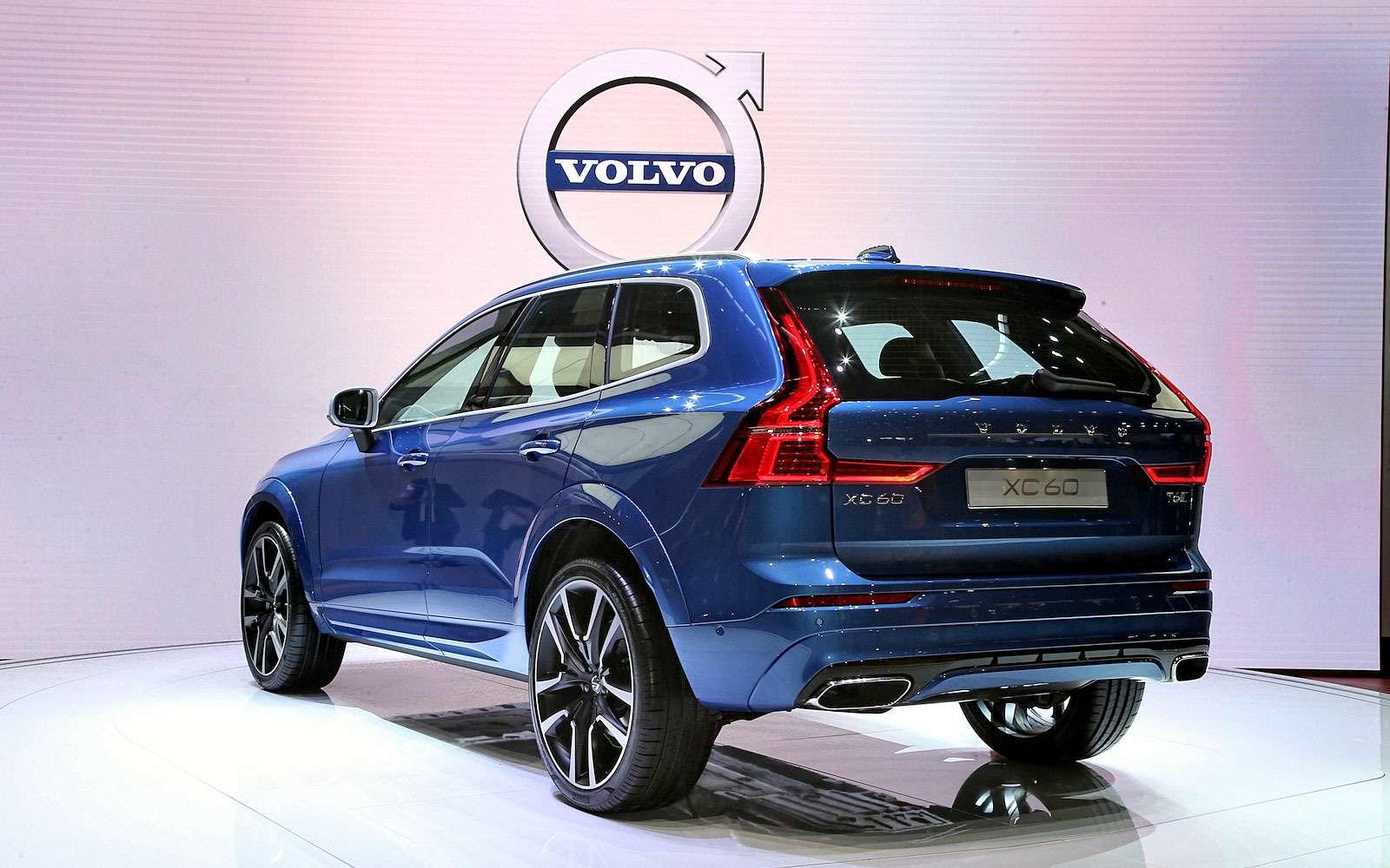 Спасатель изГетеборга: Volvo представила кроссовер XC60 второго поколения— фото 717653