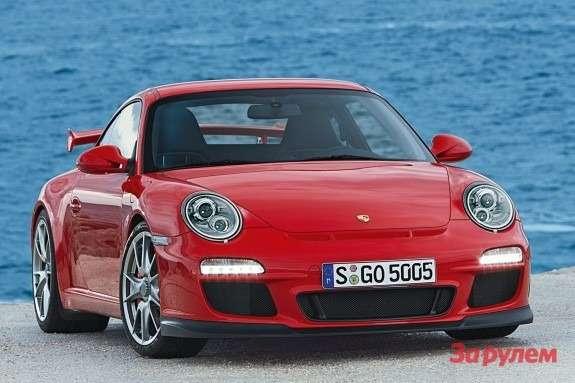 Porsche 911GT3 side-front view