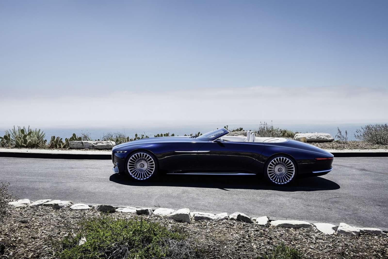 Пикник подкапотом: представлен кабриолет Mercedes-Maybach Vision 6— фото 786185