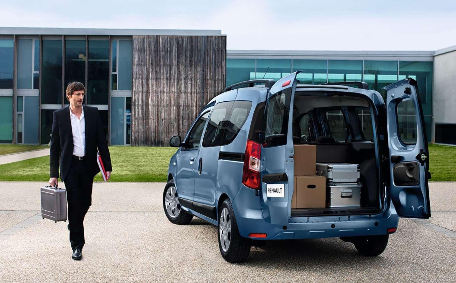 Долгожданный Renault Dokker— цены икомплектации— фото 812061