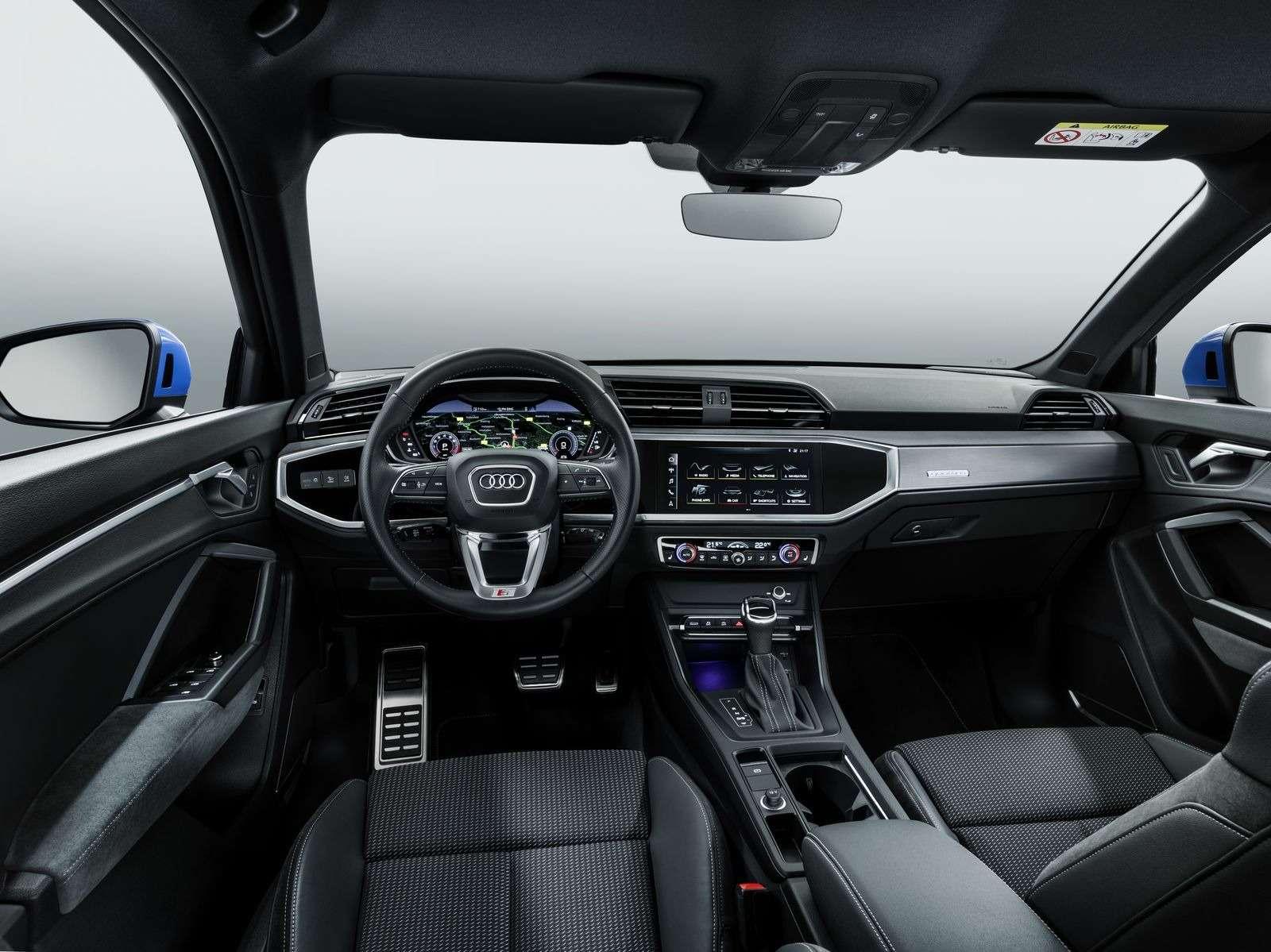 Новый Audi Q3: острые грани ицифровые приборы— фото 890059
