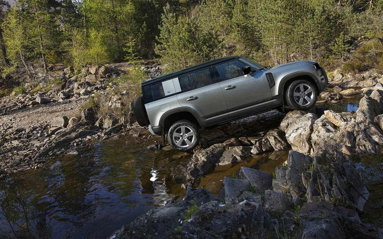 Новый Land Rover Defender: все его главные особенности— фото 1002764