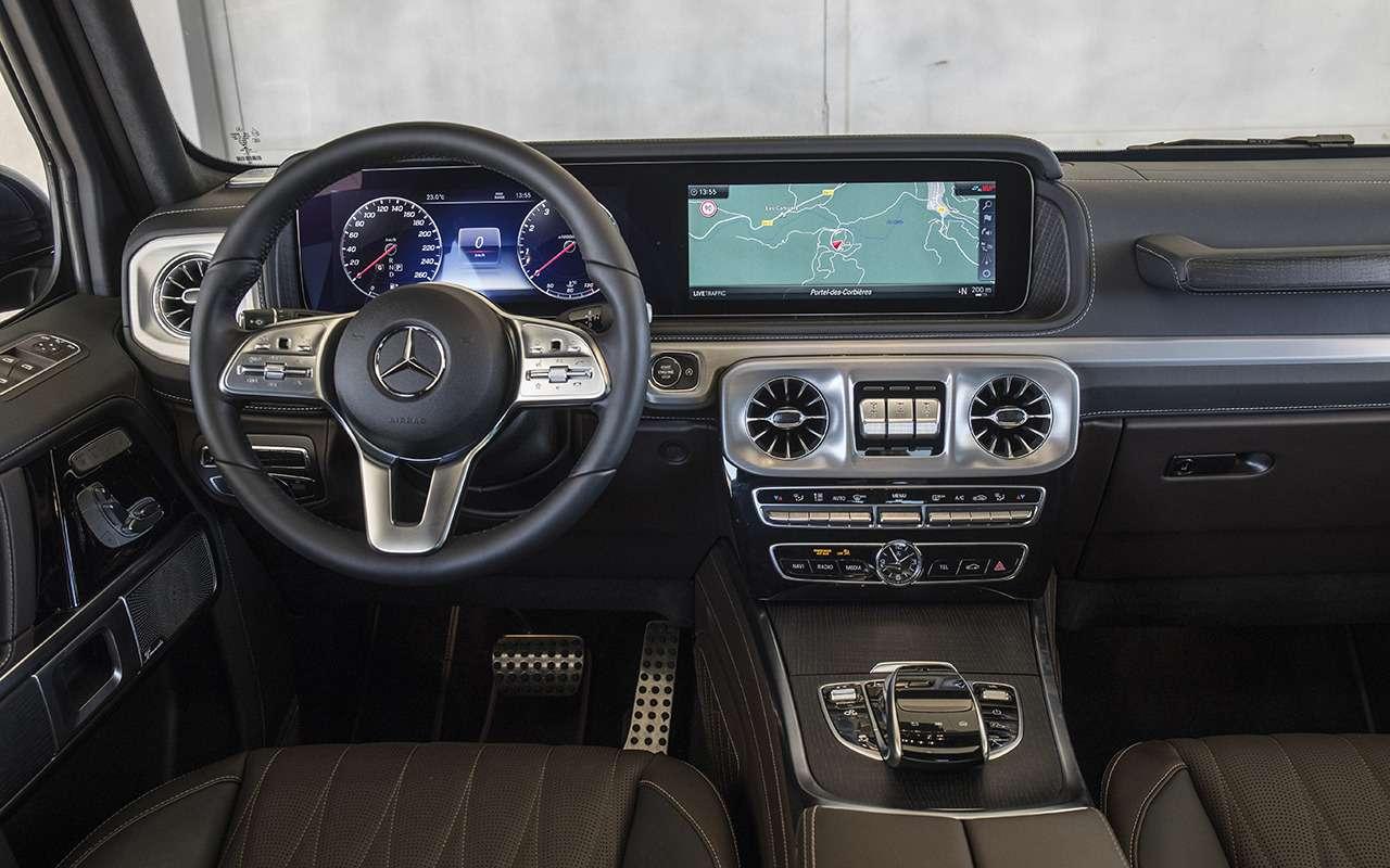 Новый Mercedes-Benz G-класса: первый тест-драйв— фото 867928