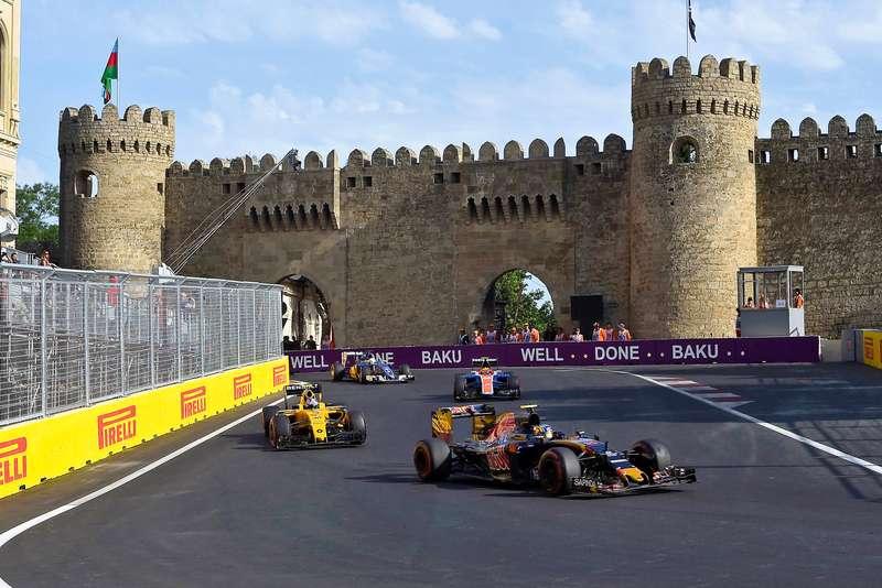Формула-1: мерси, Баку