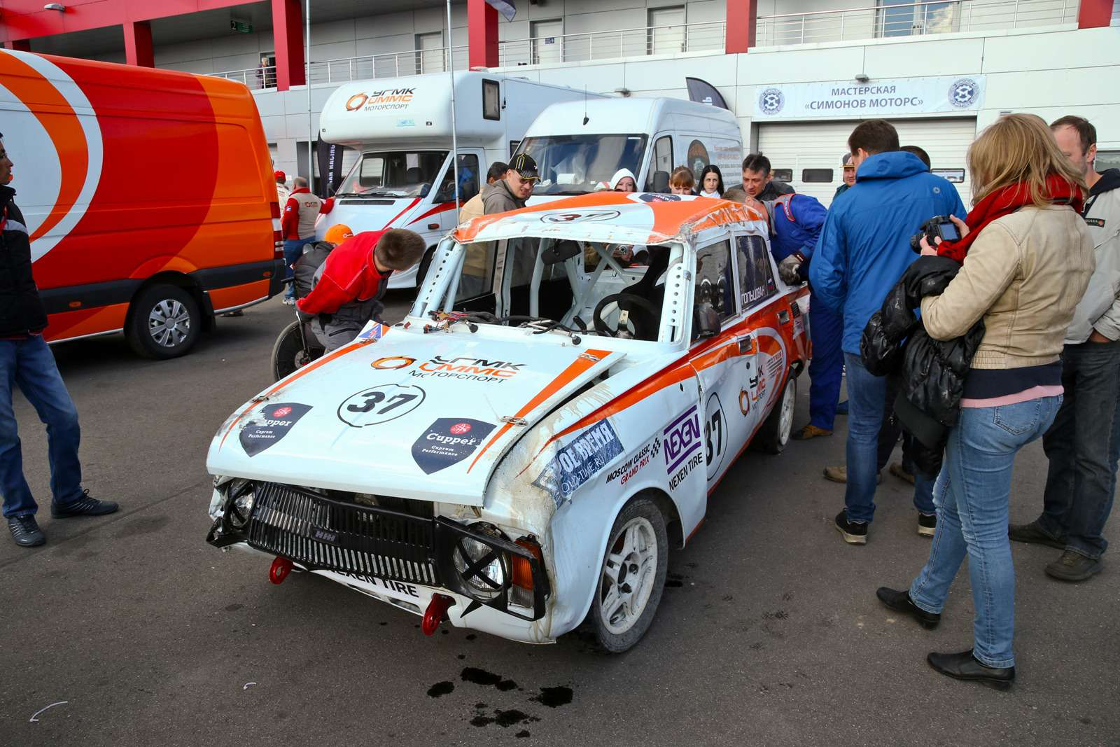 Выводим Волгу ГАЗ-24на Moscow Classic Grand Prix: вспомнить всё— фото 614552