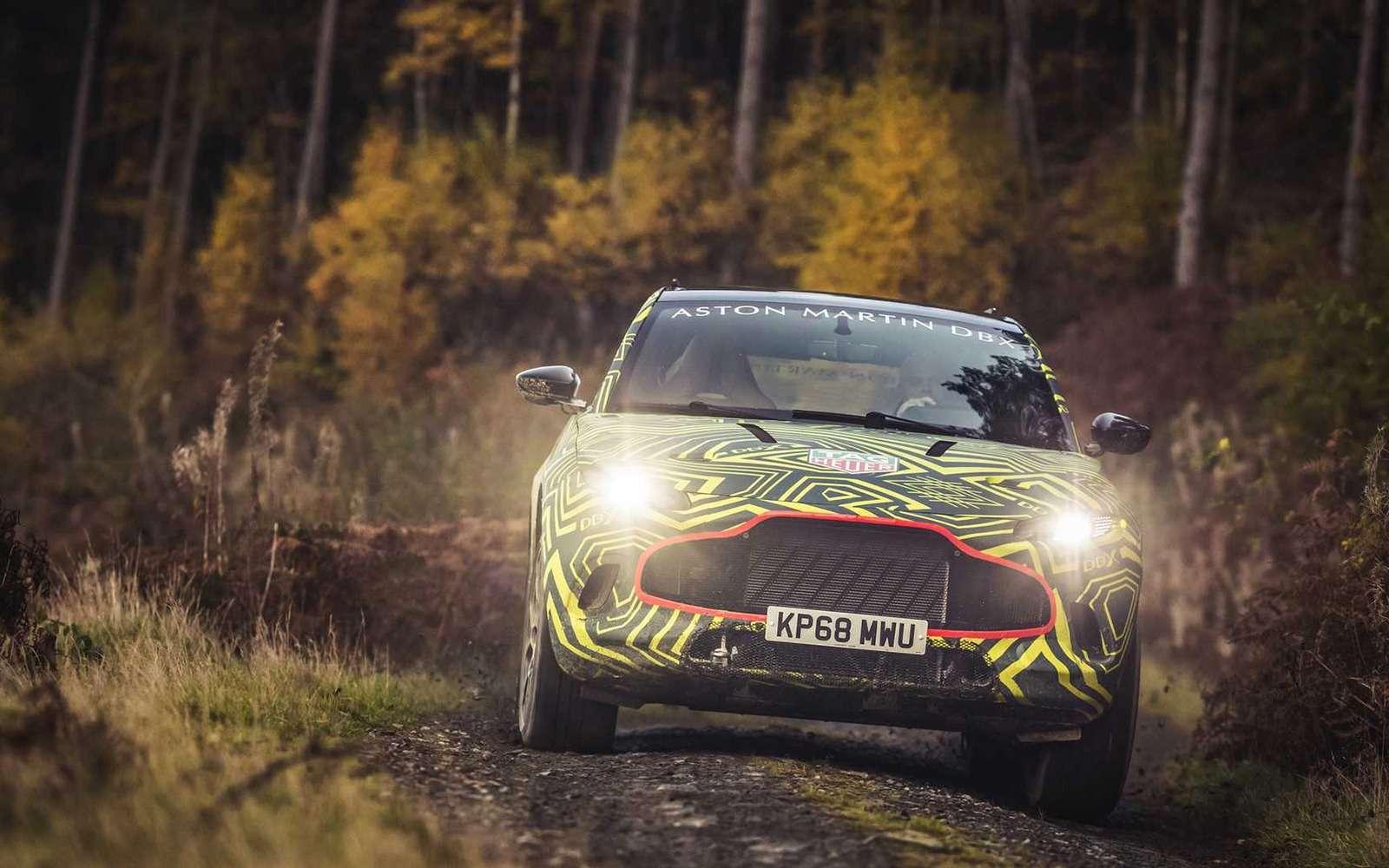 Aston Martin показал свой кроссовер на фото и видео — фото 922758