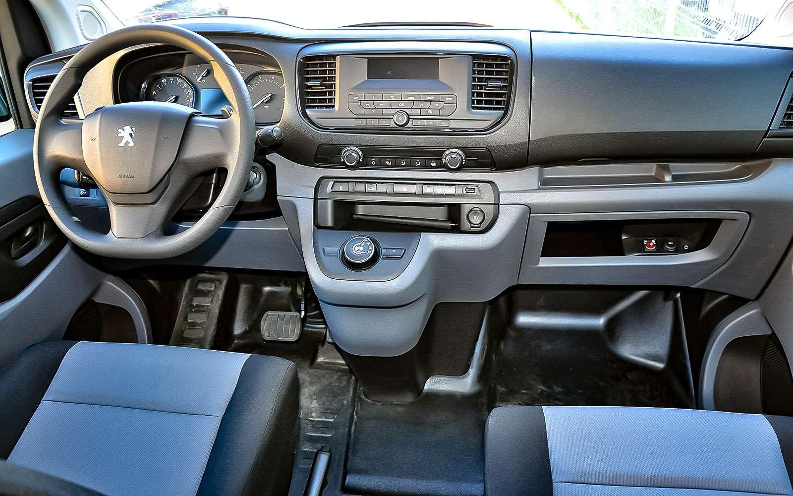 Новые Peugeot Expert иCitroen Jumpy готовятся кстарту продаж— фото 758533