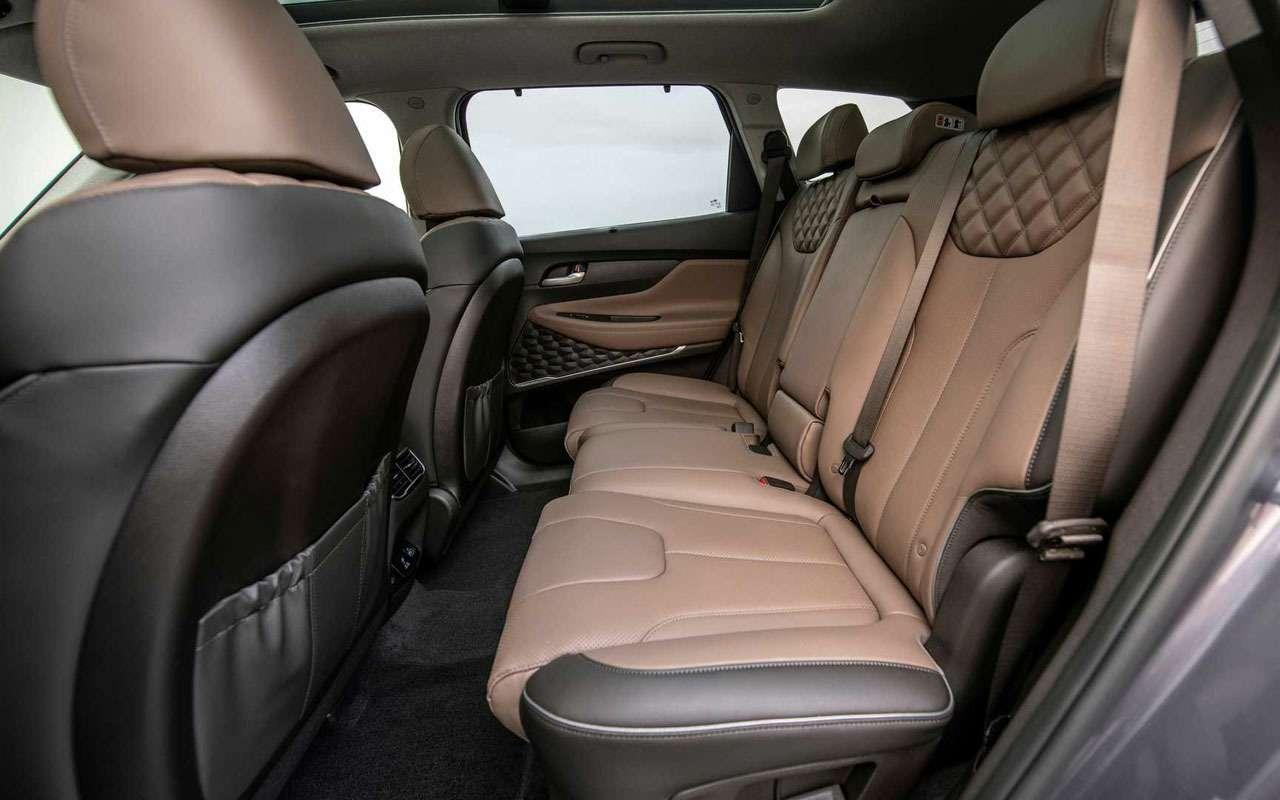 Hyundai Santa Feполучил новые моторы икоробки— фото 1190950
