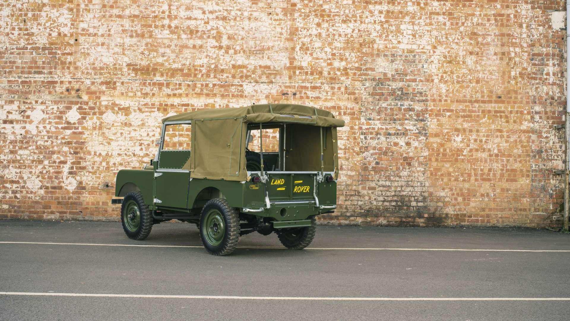 Воскрешение измертвых: Land Rover вернется квыпуску модели Series I— фото 572801