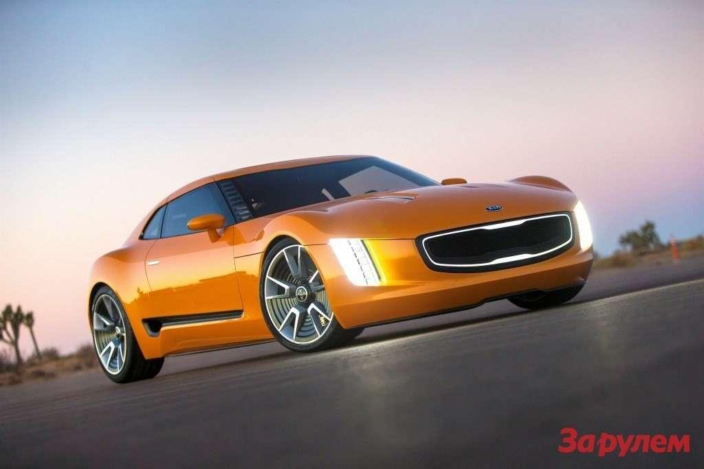 Наавтосалоне вЖеневе вмарте KIA проведет европейскую премьеру купе GT4 Stinger, атакже представит обновленные модели Sportage иOptima Hybrid