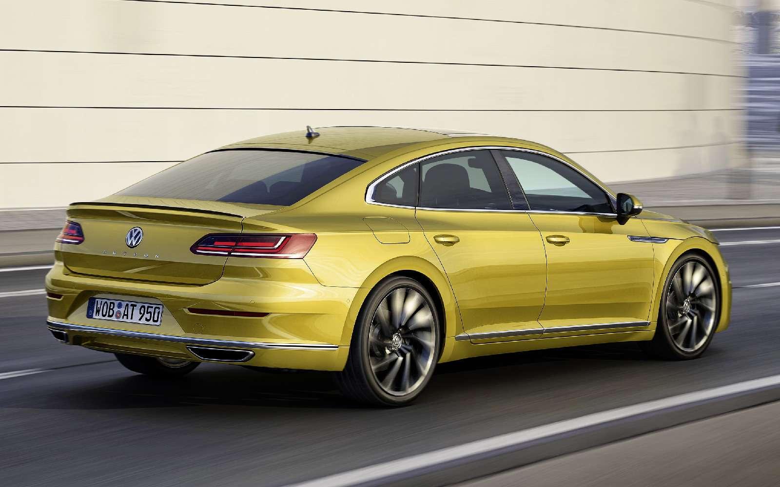 Volkswagen Arteon: это вам неЦе-Це!— фото 717142