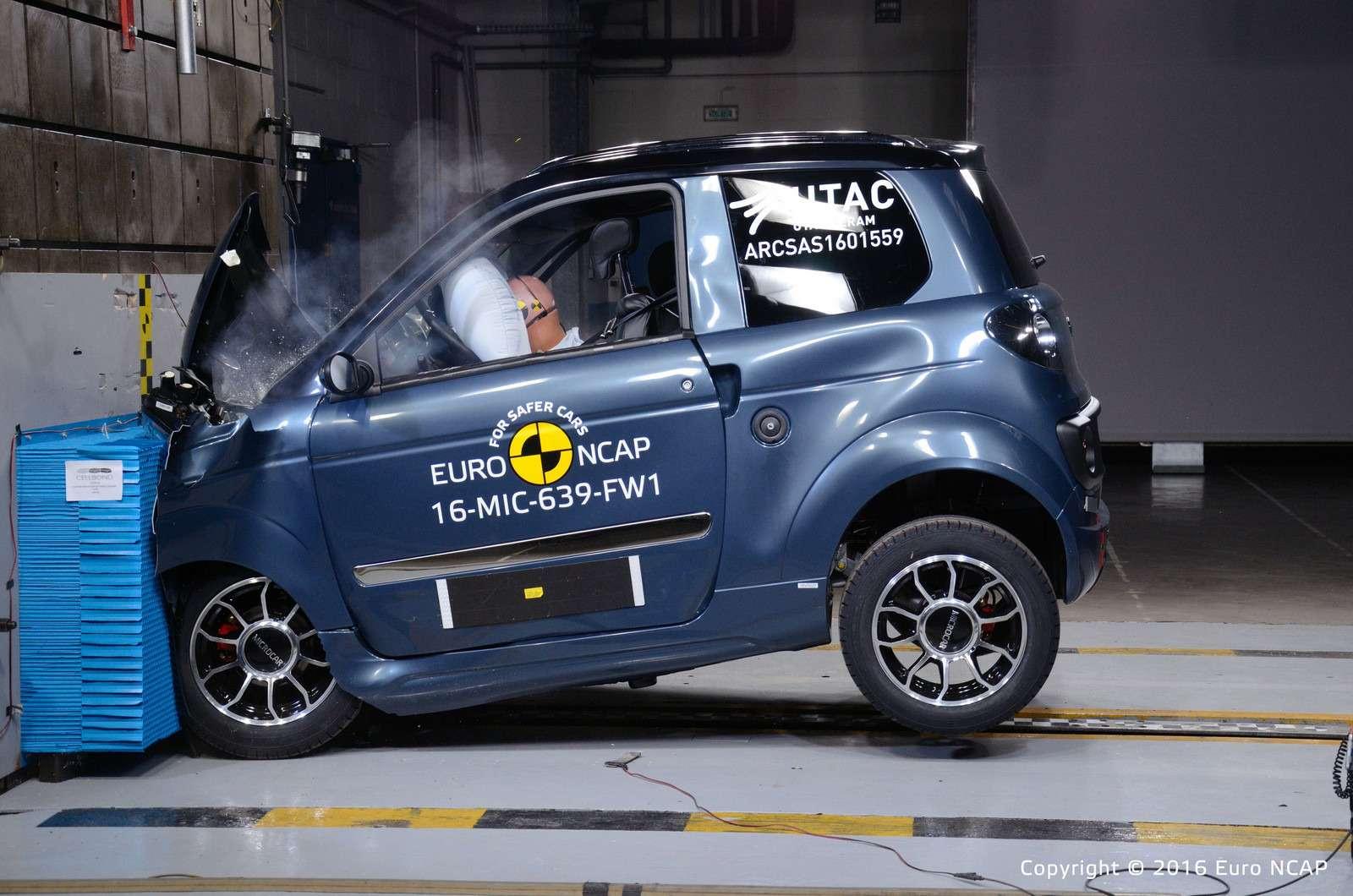 Euro NCAP огласил ужасающие результаты краш-тестов тяжелых квадроциклов— фото 573084