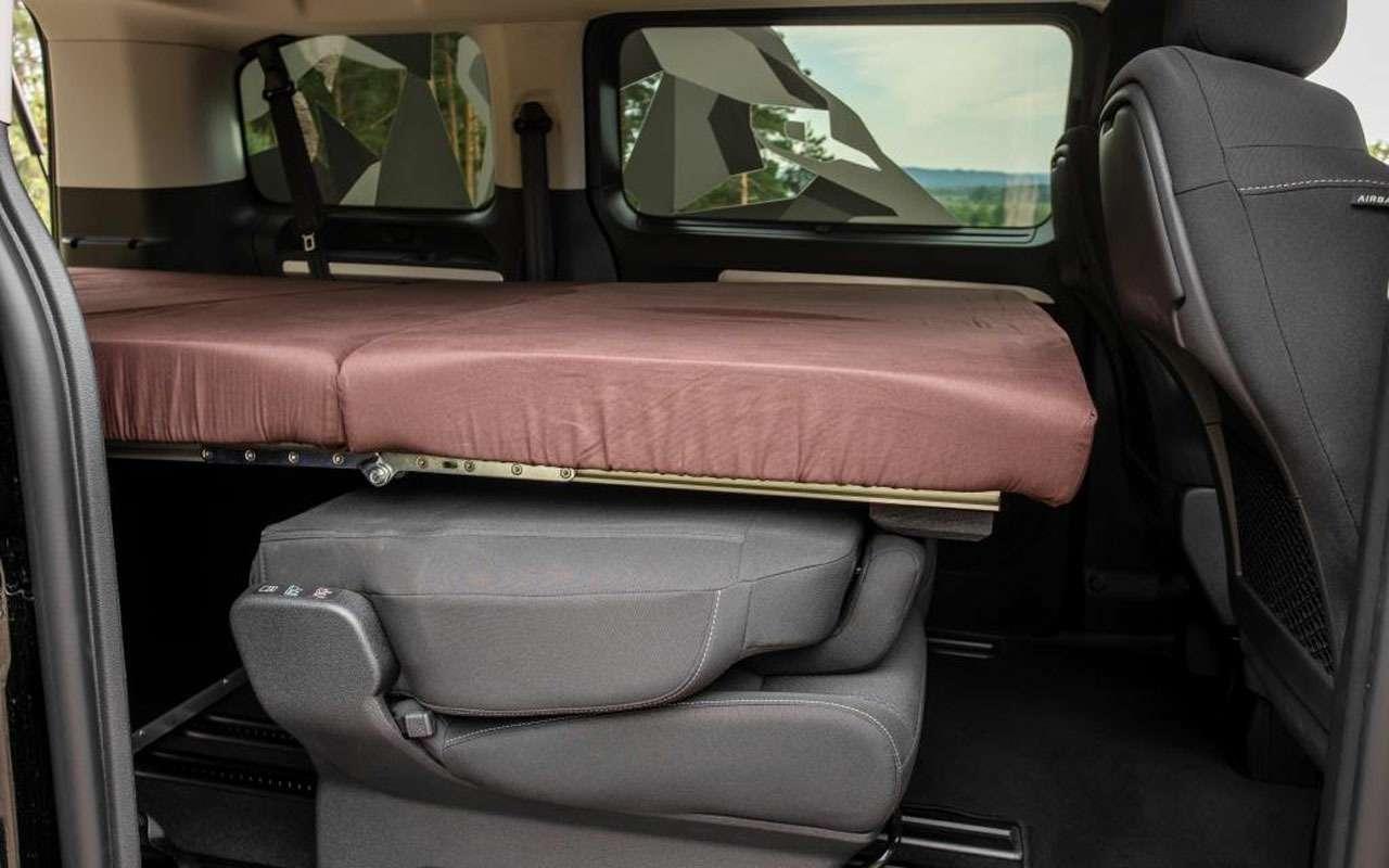 Peugeot привез вРоссию кемпер набазе Traveller— фото 1276441