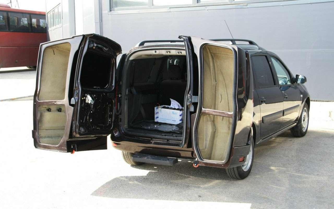 Ладе Ларгус сделали второй багажник-рюкзак— фото 1002506