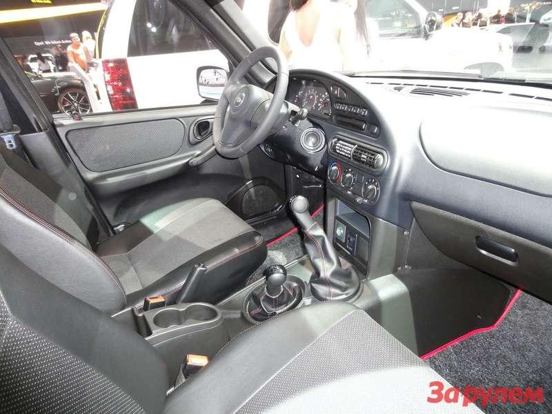 Chevrolet Niva вкомплектации Limited Edition интерьер